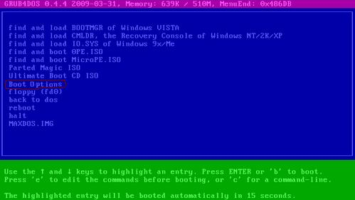 how to create a bootable system image from windows xp